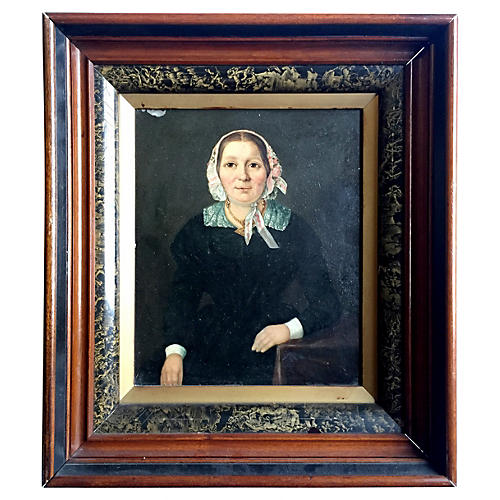 19th-C. Portrait of a Lady