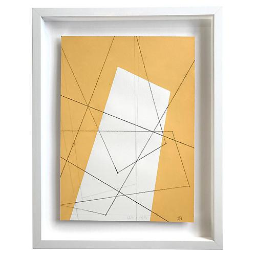 Geometric Colors IX by John Mayberry