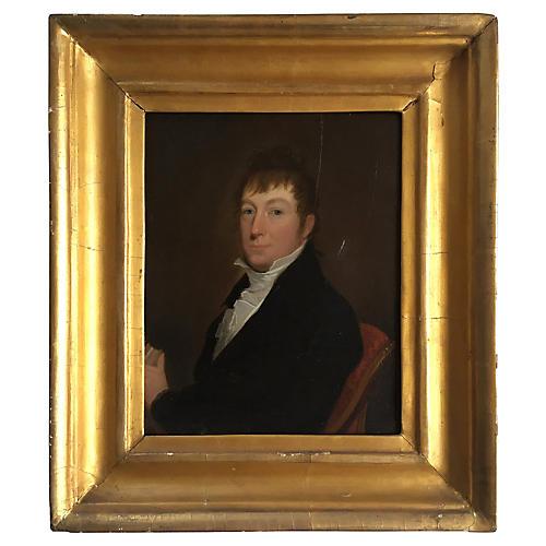 Portrait of a Gentleman, 19th Century
