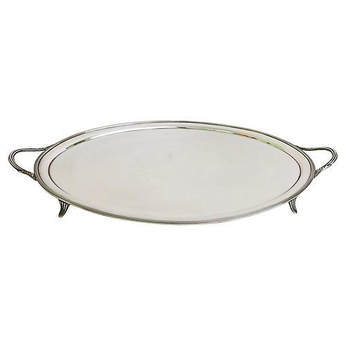 Art Deco Silver-Plate Tray