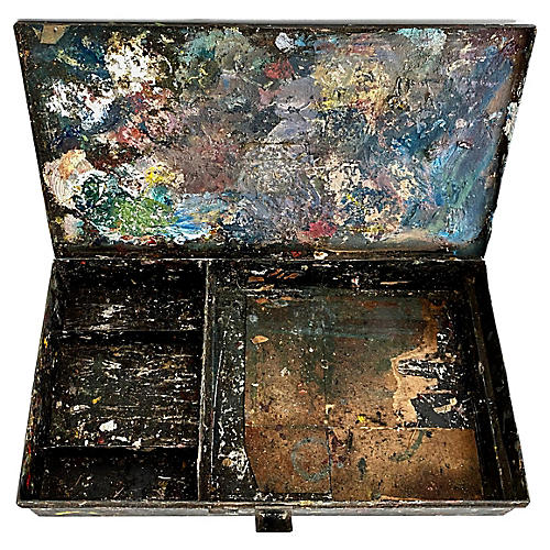 French Artist's Tool Box