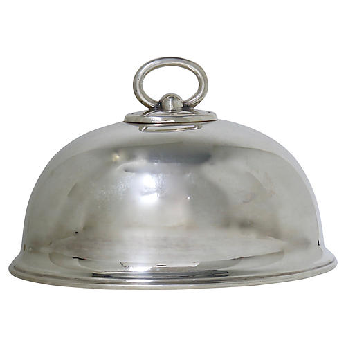Antique Walker & Hall Silver Dome