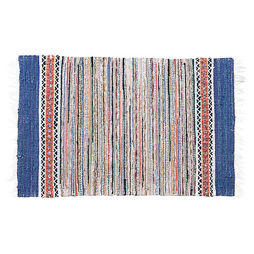 "Handwoven Swedish Rug, 3'6"" x 2'3"""