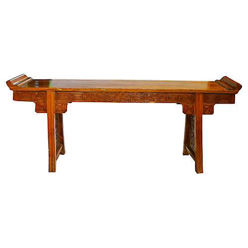 Antique Large Chinese Altar Table