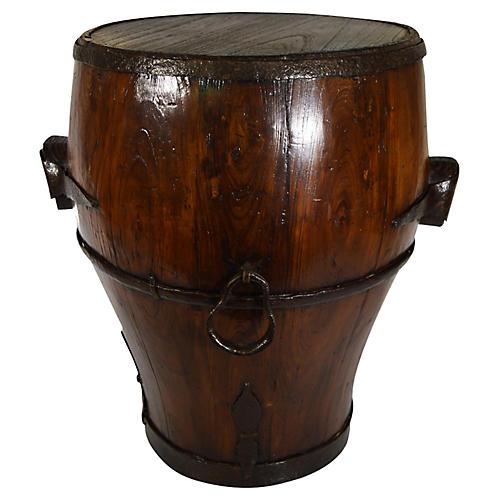 Antique Chinese Grain Basket