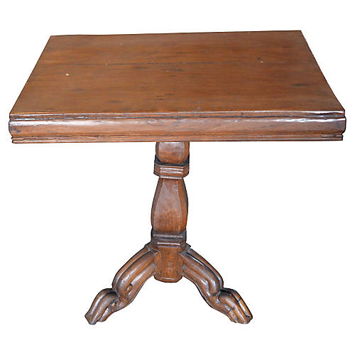 Handmade Colonial Tripod Table