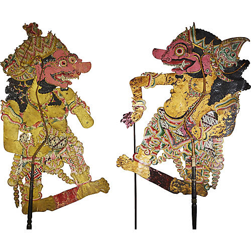 Balinese Shadow Puppets, S/2