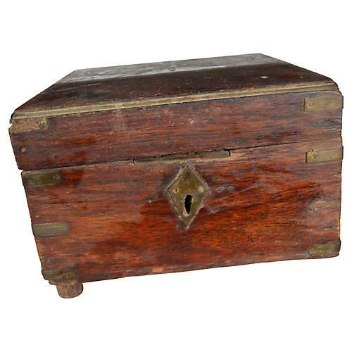 Antique Indian Perfume Box