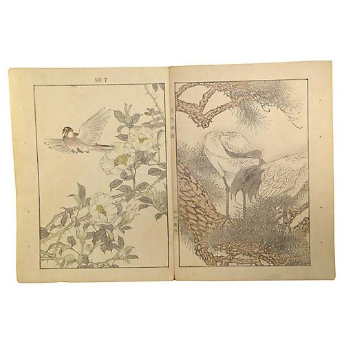 Japanese Lithograph Prints