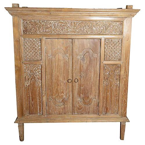 Antique Indonesian Cabinet