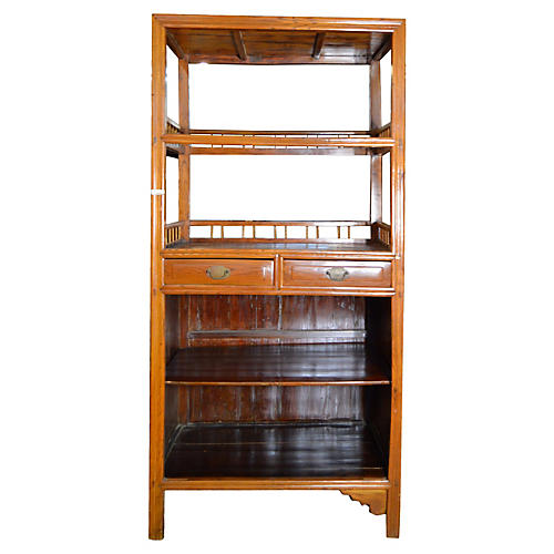 Chinese Bar Cabinet