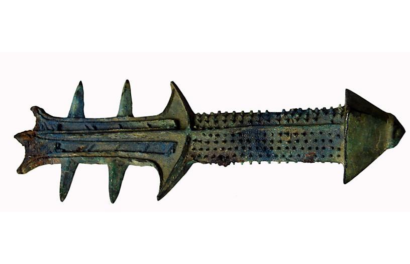 Antique Bronze Sword Grip
