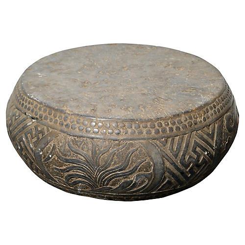 Antique Stone Garden Seat