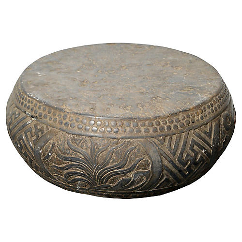 Antique Stone Garden Seat