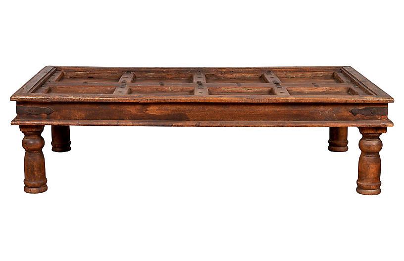 Sheesham Wood Indian Palace Door Table
