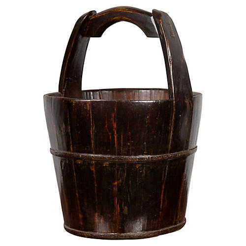 Southern Chinese Wooden Bucket