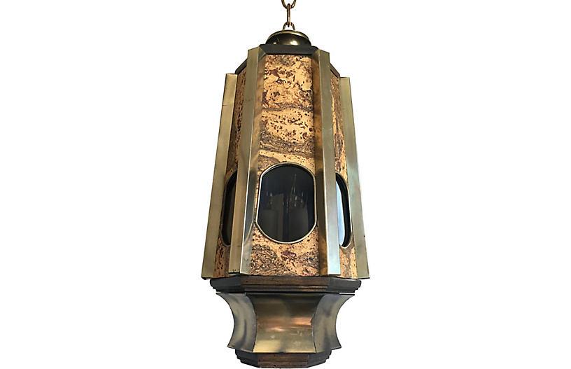 Modern Organic Lantern