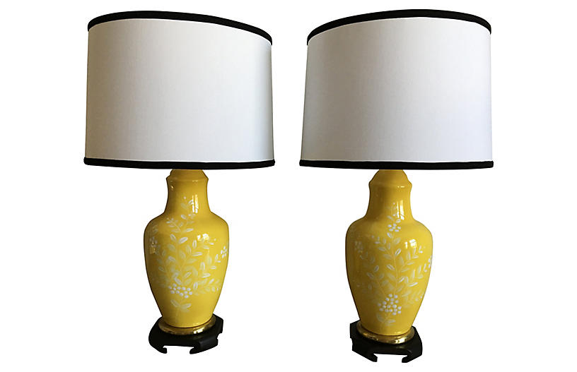 Frederick cooper lamps wshades pair c the light interiors lblttexttthumbnailimage aloadofball Choice Image
