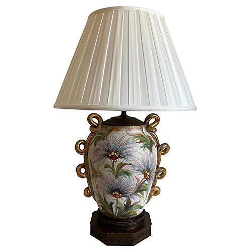 Oversize Vase Lamp & Shade