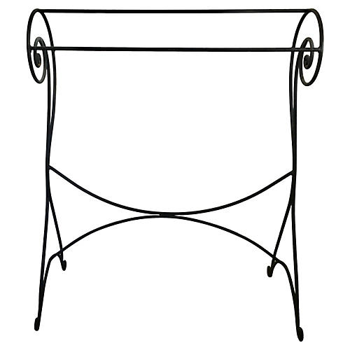 Iron Towel Stand