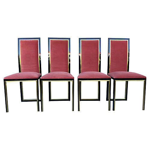 Dining Chairs by Quebec 69, S/4