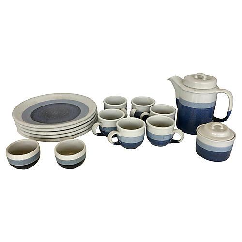 Otagiri Stoneware Breakfast Set, 16 Pcs