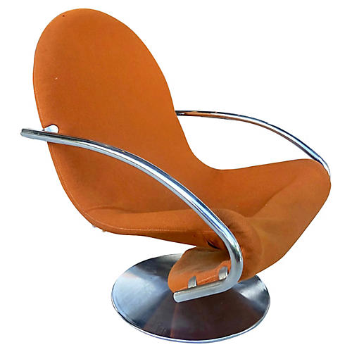 Verner Panton Swivel Lounge Chair