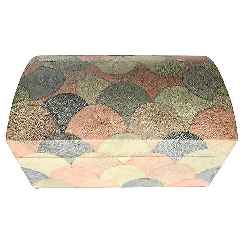 M.Smith Large Shagreen Box