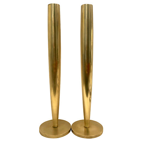 C.Klein For Swid Powell Candlesticks/2