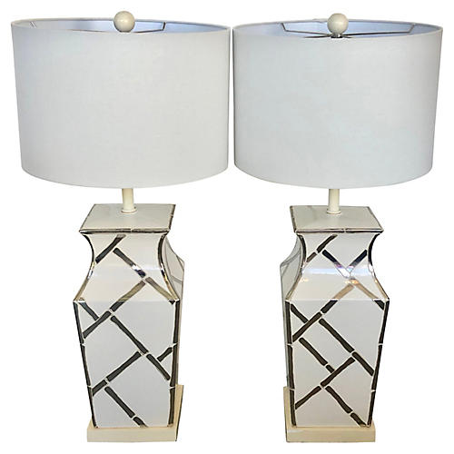 Palm Beach Regency Table Lamps