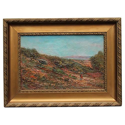 Provence Landscape by E. Ducros