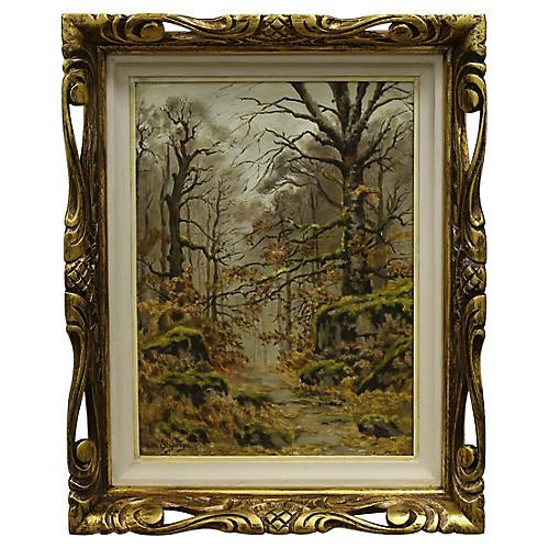 Barbizon Forest by L. St. Georges