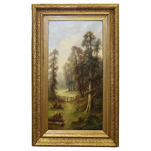 Idyllic Landscape by A. Stone