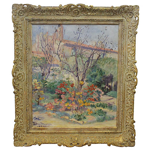 Floral Garden by E. Mason