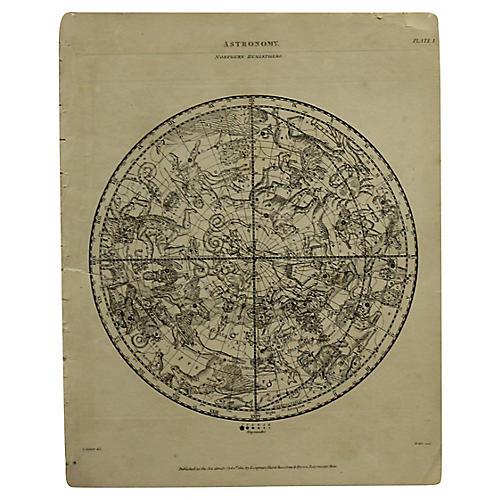 Northern Hemisphere Map