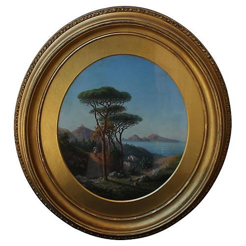 Italian Landscape by A. Solari