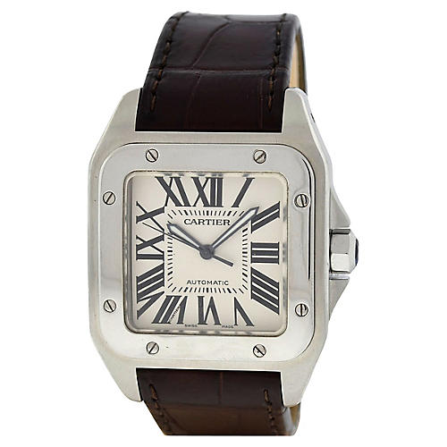 Cartier Santos 100 XL Men's Watch