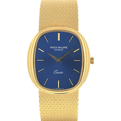 Patek Philippe 3857 Blue-Dial Watch