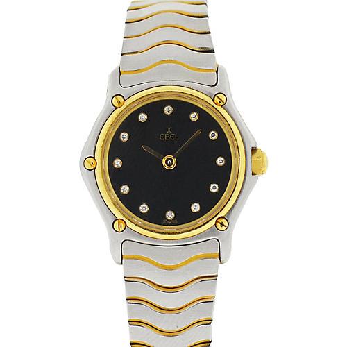 Ebel Diamond Wave Watch
