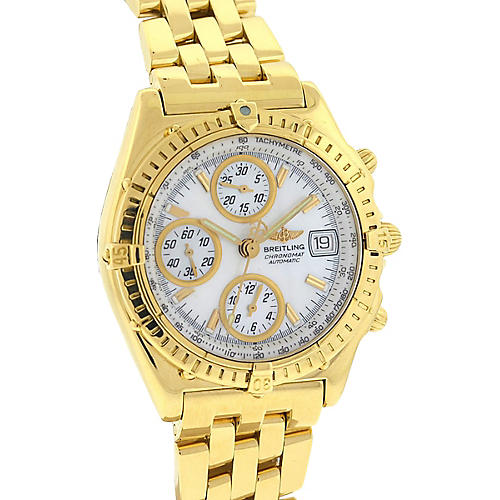 Breitling K13050.1 18k Gold Watch