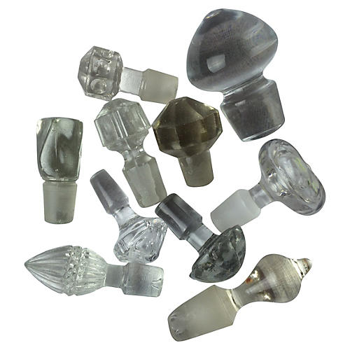 Collection of Stoppers, S/10