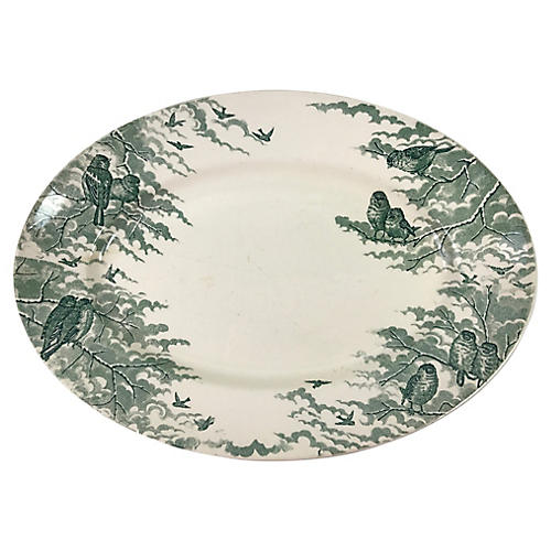 French Transferware Platter