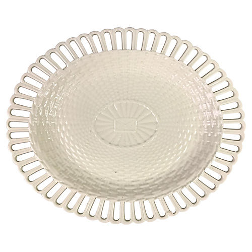 French Creamware Platter