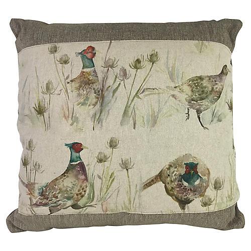 Scottish Linen Pillow