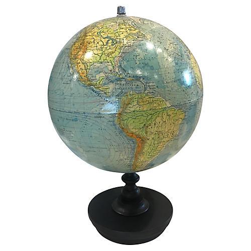 1970s German Globe