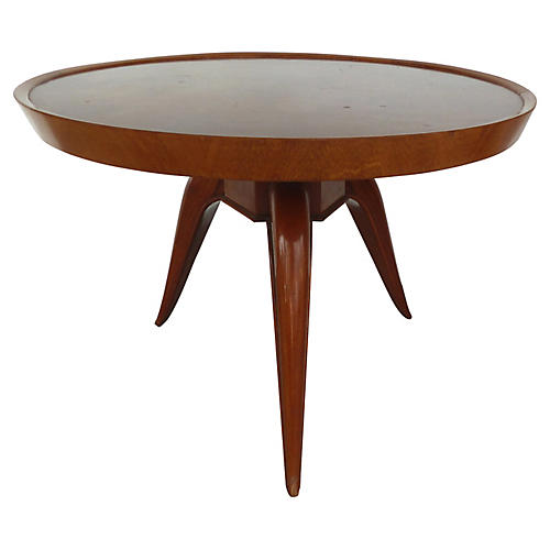Art Deco Matched Grain Coffee Table