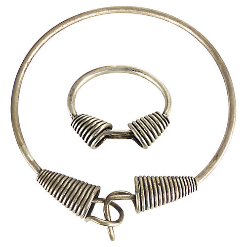 Moroccan Handmade Choker & Bracelet