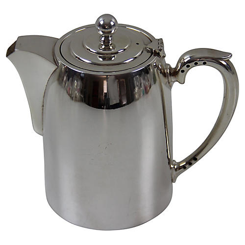 Elkington Hotel Coffee Jug, C.1940