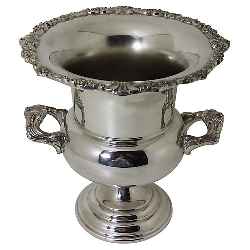 Silver-Plate Wine Cooler, C.1950