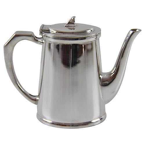 Connaught Hotel Coffeepot